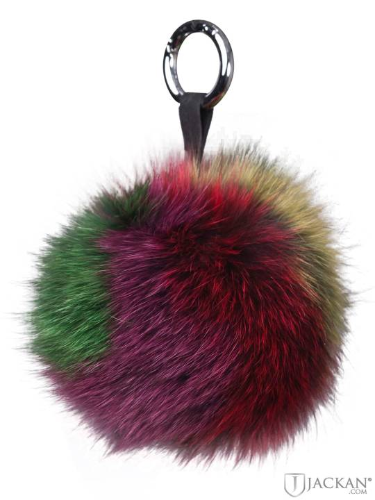 Pom Pom Charm Fur Suede i multi från Rock And Blue | Jackan.com