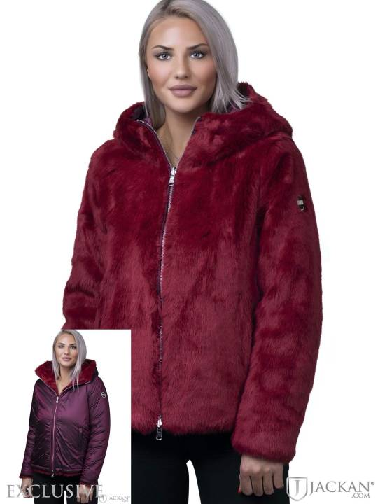 Ladies Fur Jacket AW 18 (Rot)